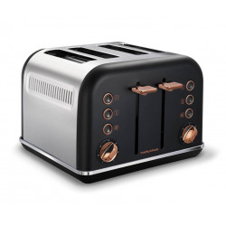 Тостер Morphy Richards Accents Rose Gold Black 242104
