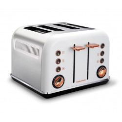 Тостер Morphy Richards Accents White & Rose Gold 242106